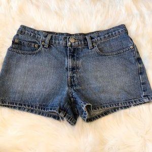Ralph Lauren Polo Saturday jean shorts